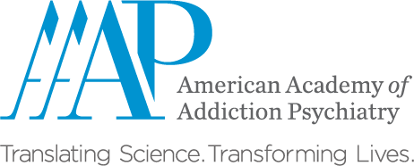 American Academy of Addiction Psychiatry Logo